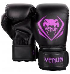 bf10a67382448 ... Guantes de Boxeo Venum Contender - Negro   Purpura