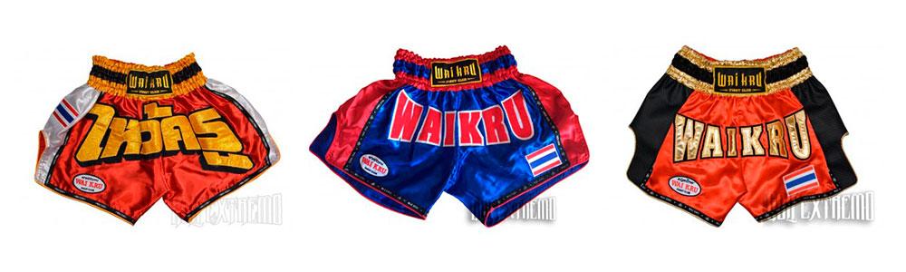 Ropa Muay Thai WaiKru