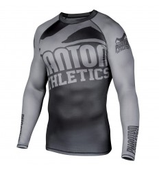 "Rashguard Phantom Athletics ""Supporter 2.0"" Gris / Negro - ML"