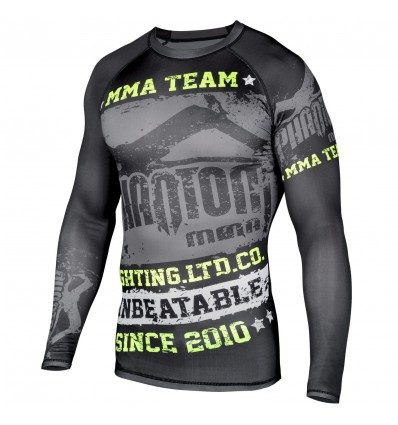 "Rashguard Phantom Athletics ""Walkout"" - Negro / Neon- ML"