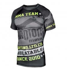"Rashguard Phantom Athletics ""Walkout"" - Negro / Neon- MC"