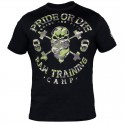 Camiseta Pride Or die Raw Training Camp -Negro