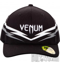 Gorra Venum Sharp 2.0  Negro-Blanco
