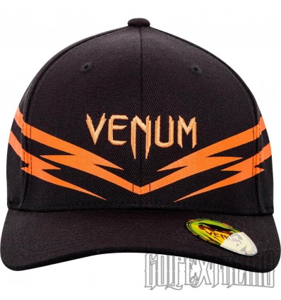 Gorra Venum Sharp 2.0 Negro- Naranja