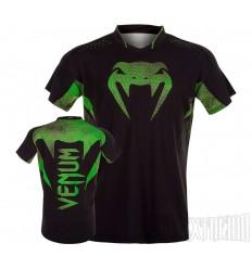 Camiseta Venum Hurricane X Fit Amazonia - Verde
