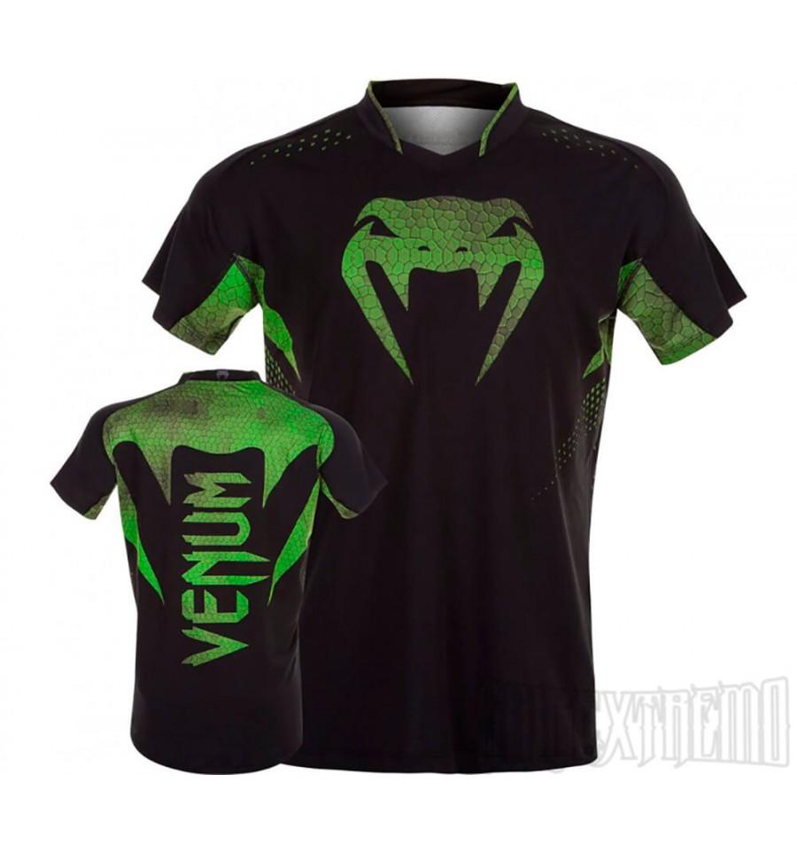 Camiseta Venum Hurricane X Fit Amazonia - Verde d862143c6b241