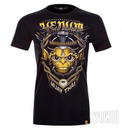 Camiseta Venum Hanuman Negro