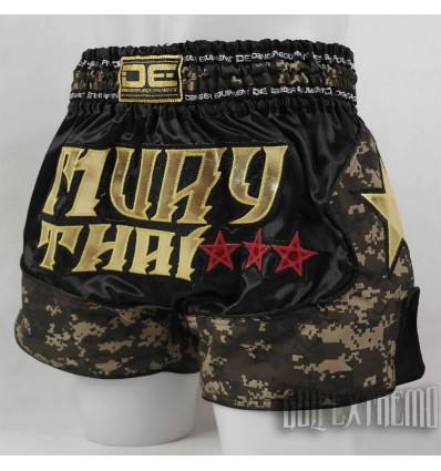 Pantalón Muay Thai Danger Equipment Camo