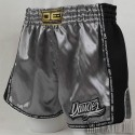 Pantalón Muay Thai Danger Equipment Low Waist - Gris