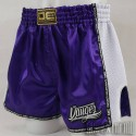 Pantalón Muay Thai Danger Equipment Low Waist - Purpura