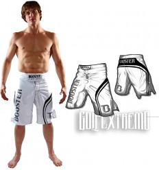 "Pantalon MMA Booster "" Pro Trial"" Blanco"