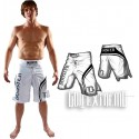 """Pantalon MMA Booster """" Pro Trial"""" Blanco"""