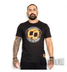 Camiseta Kvra Cross Combat - Negro