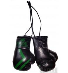 Guantes de Boxeo Retrovisor GolpeXtremo Negro - Verde