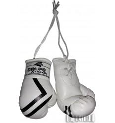 Guantes de Boxeo Retrovisor GolpeXtremo - Blanco