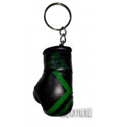 Llavero Guante Boxeo GolpeXtremo - Negro / Verde