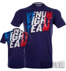 Camiseta Venum French Flag - Azul