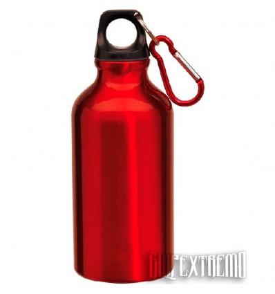 Botella deportiva de Aluminio Miles - Rojo