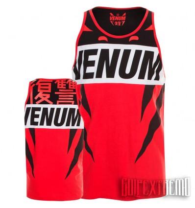 Camiseta Tank top Venum Revenge - Rojo