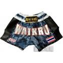 Shorts Muay Thai Wai Kru Retro Camo - Gris