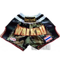 Shorts Muay Thai Wai Kru Retro Kevlar Camo