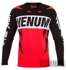 Camiseta Manga Larga Venum Revenge - Rojo