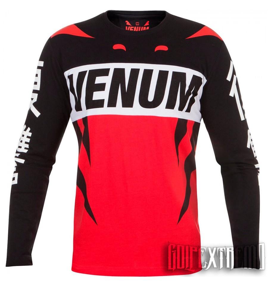 Camiseta Manga Larga Venum Revenge - Rojo. Loading zoom 15a9929b95081