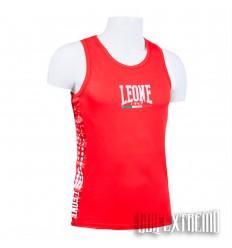 Camiseta Boxeo Leone - Rojo