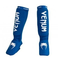 Espinilleras con Empeine Venum Kontact Azul