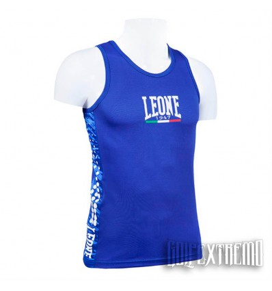 Camiseta Boxeo Leone - Azul