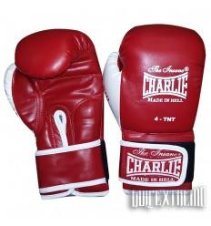 Guantes de boxeo Infantil Charlie-Rojo