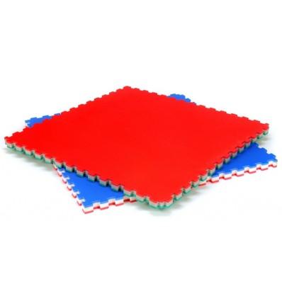 Plancha puzzle de polietileno, no resbaladiza, muy ligera (2kg).