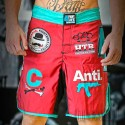 Shorts Fight4Life Liso Burgundy