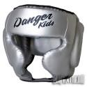 Casco Danger Infantil - Plata