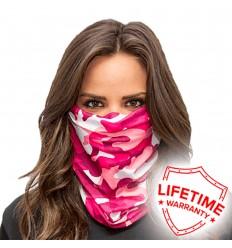Pañuelo Tubular Pink Camo