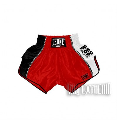 Pantalon Thai Training Leone 1947 -Rojo