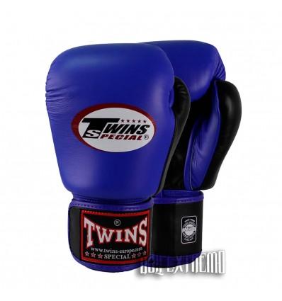 Guantes de Boxeo Twins Azul - Negro