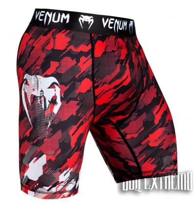 Pantalón Vale Tudo Venum Tecmo - Rojo