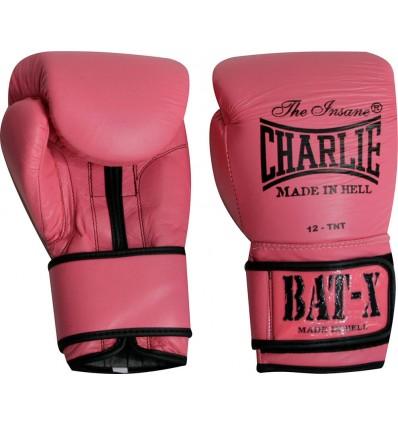 Guantes de Boxeo Charlie Bat- X Rosa