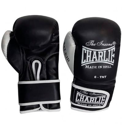 Guantes de boxeo Infantil Charlie- Negro