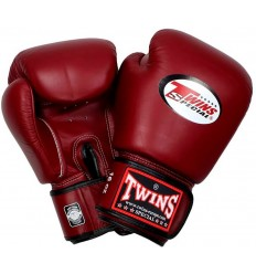 Guantes de Boxeo Twins - Rojo Oscuro