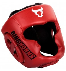 Casco Ringhorns Charger Rojo