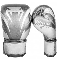 Guantes de Boxeo Venum Impact Silver