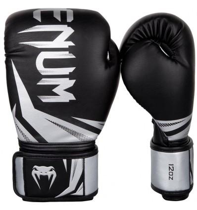 Guantes de Boxeo Venum Challenger 3.0 Negro - Plata