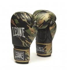 Guantes de boxeo Leone Neo Camo Verde