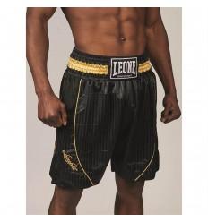 Pantalones de Boxeo Leone 1947 Premium Negro
