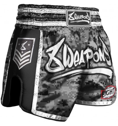 Pantalon Muay Thai 8 Weapons Super Mesh City - Camo