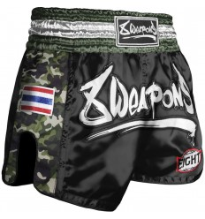 Pantalon Muay Thai 8 Weapons Ultra Camo