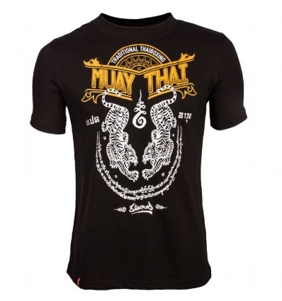 Camiseta Muay Thai 8 Weapons Sak Yant Tigers