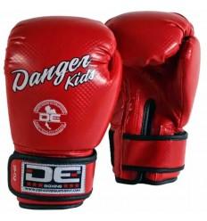 Guantes boxeo Danger Infantil - Rojo